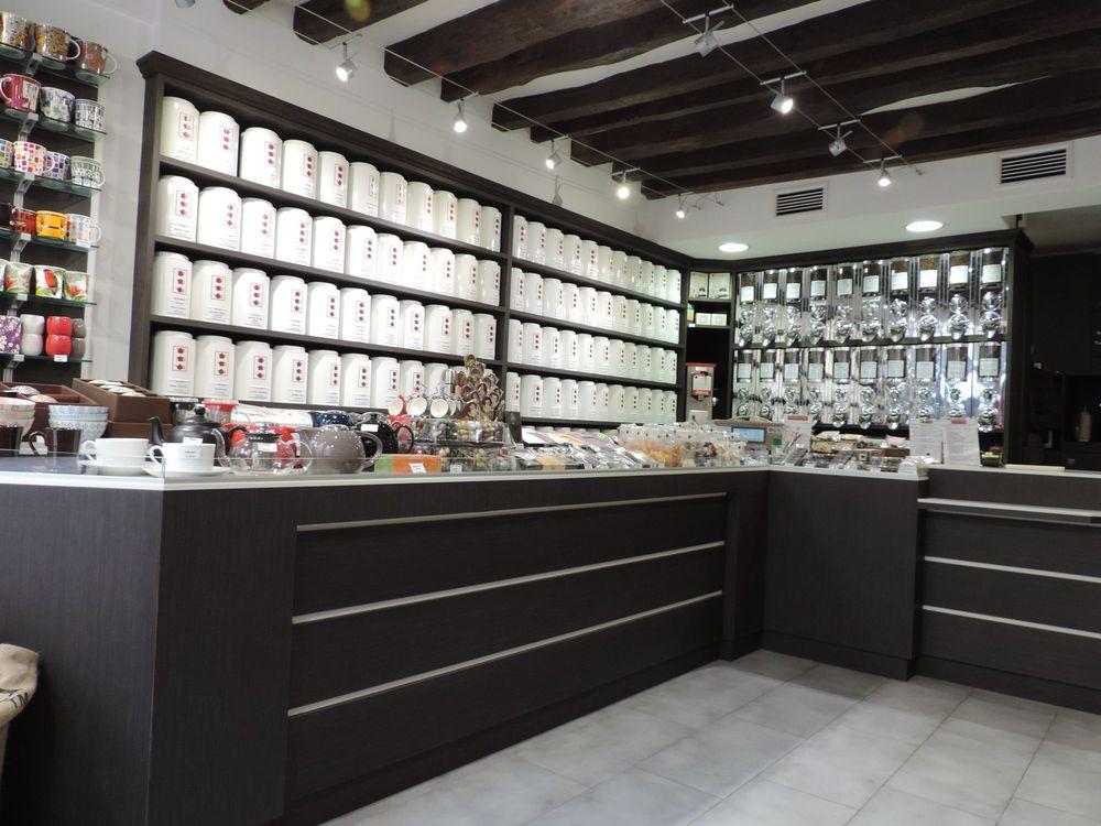 Simon Agencement Boutique de thés